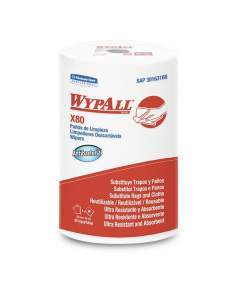 Wypall* X80 Regular antibacterial Rollo